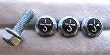 Blue Oyster Cult License Plates Screws, Blue Oyster Cult Logo Plate Screws , BOC
