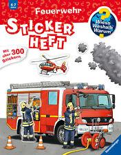 Niklas Böwer Feuerwehr Stickerheft