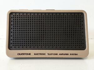 Nice Vintage Electronic Telephone Amplifier System Radioshack Duofone 43-276