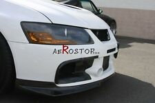 CARBON FIBER RALLIART FRONT BUMPER AIR DUCT FOR MITSUBISHI EVO EVOLUTION 9