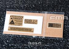 FMA Custom Decals F3 For AN PEQ-15 LA-5 Case TB1078-03