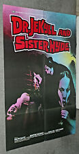 DR. JEKYLL AND SISTER HYDE original UK movie poster MARTINE BESWICK/RALPH BATES