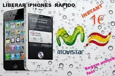Liberar iPHONE MOVISTAR España 3G ,3GS, 4, 4S, 5 ,5s,5c , INSTANT