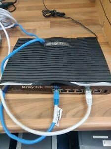 Draytek 2920 Dual WAN, VPN, Security, Fibre router. #eb0006