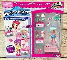 Shopkins Happy Places Season 3 Welcome Pack Cozy Bear Bedroom Includes Jascenta