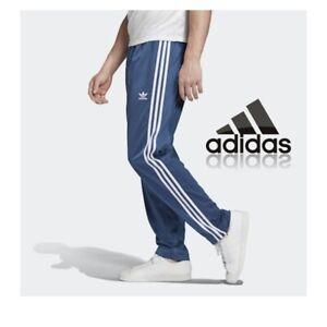adidas Firebird Track Pant Mens Blue Tracksuit Bottoms Retro Pants Size XS-L NEW