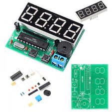 DIY Kit C51 4 Bits LED Digital Electronic Clock Production Suite