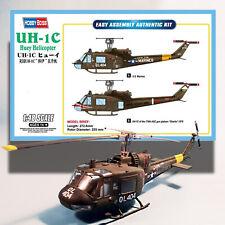 HOBBYBOSS 1/48 UH-1C HUEY HELICOPTER  KIT 85803