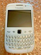 Used White Blackberry Curve 9300 Unlocked Cell Phone Roger Bell Telus Fido Koodo