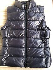 Moncler vest boy girl size 12 years blue