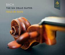 Bach / Viola De Hoog - Six Solo Cello Suites [New CD]