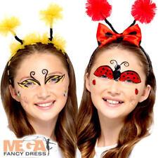 Bug Make Up Kit Kid Fancy Dress Animal Bumble Bee Ladybird Costume Facepaint New
