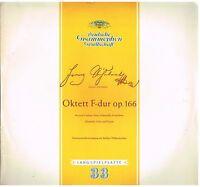 Schubert: Oktett Op.166 / Kammermusikvereinigung Der Berliner LP DGG KPM 18285