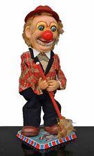 jouet ancien années 70 automate Japonais clown balais