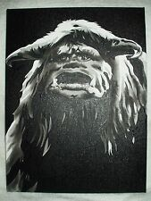 Canvas Painting Labyrinth Movie Ludo A B&W 16x12 inch Acrylic