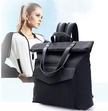 Large Capacity Backpack Black Waterproof Laptop Womens Handbag Shoulder Bag Tote