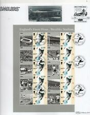 GB 2006 Smilers Sheet SGLS31 World Cup Football Winners fine used sheet stamps