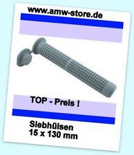 10 Siebhülsen 15x130 Ankerhülse Siebdübel Verbundmörtel M10-12 Gitterdübel