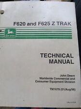 Used John Deere TM1678 F620 & F625 Z Track