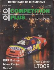 Competition Plus The R/C Car Magazine March 1994 Reedy Race of Champions