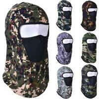 Hunting Camo Tactical Motorcycle Cycling Outdoor Full Face Neck Mask Balaclava