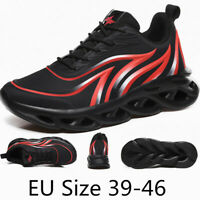 Men's Casual Sneakers Running Athletic Hiking Sport Gym Lace Up Outdoor Shoes UK
