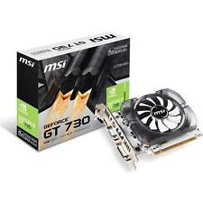 Msi Video Card N730-4gd3v2 Gt 730 4gb Ddr3 128b Pcie2.0 Dvii Hdmi Vga Retail