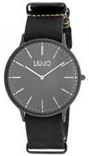 Reloj De Hombre LIU JO Luxury NAVY TLJ968 Piel Genuina Negro Clásico