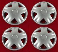 4 x 13 INCH CAR WHEEL TRIMS - COVERS / HUB CAPS - UNIVERSAL - ALLOY LOOK - NEW