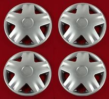 4 x 13 INCH CAR WHEEL TRIMS - COVERS / HUB CAPS - UNIVERSAL - ALLOY LOOK - NEW