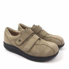 Finn Comfort Sz 6.5 Suede Leather Sneaker Tennis Shoe Flat Shoes Tan Brown US 9