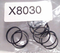 Hornby X8030 Spare Parts 10 x Traction Tyres for A3/A4 MARGATE Tender Drive Loco
