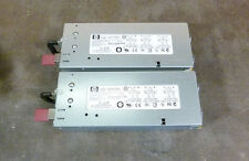 Lot of 2 HP 379124-001 403781-001 1000W Power Supplies for DL380 G5 Server