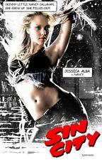 Sin City movie poster (c) : 11 x 17 inches : Jessica Alba