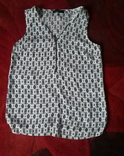 ATMOSPHERE FLOATY VEST TOP..SIZE 6