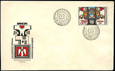 Czechoslovakia 1974 BRNO National Stamp Exhibition FDC First Day Cover #C38639