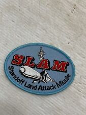 SLAM Patch Vintage Standoff Land Attack Missile