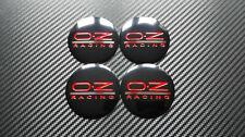4x 56mm OZ Racing Sticker Stickers Decal Badge For Center Caps Hub Cap Wheel Rim