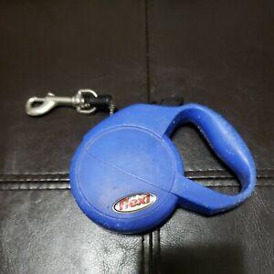 Flexi Mini Retractable Dog Leash Max Weight 18lbs 10 Feet Blue