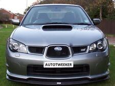 Subaru Impreza Hawkeye Grille Grill WRX STI Spec D set Crystal Grey 2006-2007