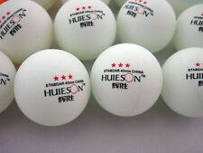 100pcs Standar 3-Stars 40mm Olympic Table Tennis Balls Pingpong Balls white AAA#