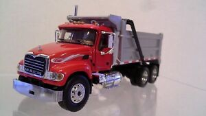 Mack Granite 3 axle Dump Truck  by First Gear 1:64 scale NIB