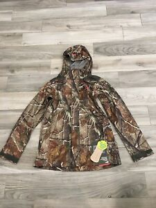 UNDER ARMOUR WOMEN'S STORM REALTREE AP CAMO LOOSE FIT JACKET LARGE 1227667 340