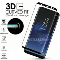 For Samsung Galaxy S8 S9 S8/S9 Plus Tempered Glass Screen Protector Full Cover *