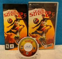 FIFA Street 2 (Sony PSP, 2006) with Manual - Tested & Working