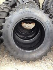 One 149x28 Firestone Sat Ii Ford John Deere 6 Ply R1 Bar Lug Farm Tractor Tire