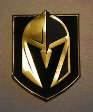 VEGAS GOLDEN KNIGHTS 3D SILICONE PRIMARY LOGO HEAT PRESS PATCH