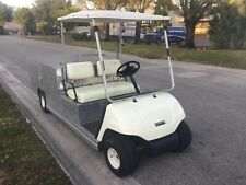 2004 yamaha gas Utility golf Cart Industrial Burden Carrier long bed flatbed