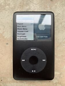 iPod classic 7th generation 160 gb black