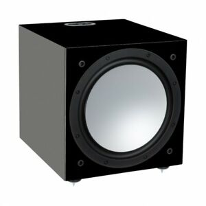 SUBWOOFER ATTIVO MONITOR AUDIO SILVER W-12 6G HIGH GLOSS BLACK CASSE SPEAKERS